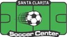 Santa Clarita Soccer Center Sticky Logo